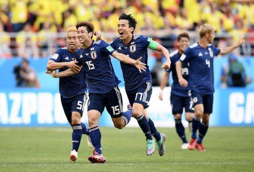 日本、コロンビアを破り白星発進...